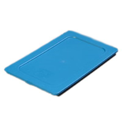 Carlisle 1029214 1/4 Size Food Pan Smart Lid - Blue