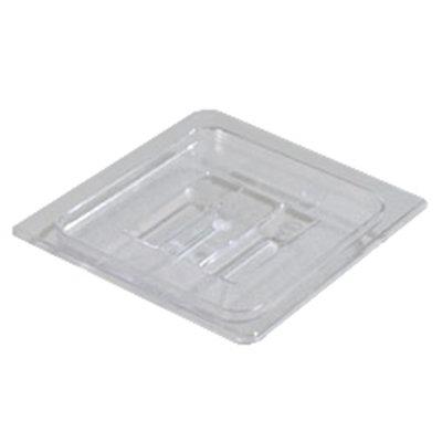 Carlisle 10310U07 Universal 1/6 Size Food Pan Solid Lid - Clear