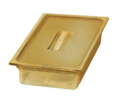 "Carlisle 1040113 High Heat Full Size Food Pan - 4""D, Amber"