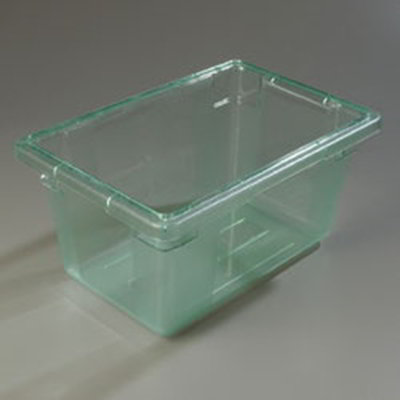 "Carlisle 10612C09 5-gal Food Storage Box - 18x12x9"" Green"