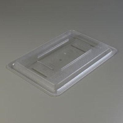 "Carlisle 1061707 Food Storage Lid - 18x12"" Clear"