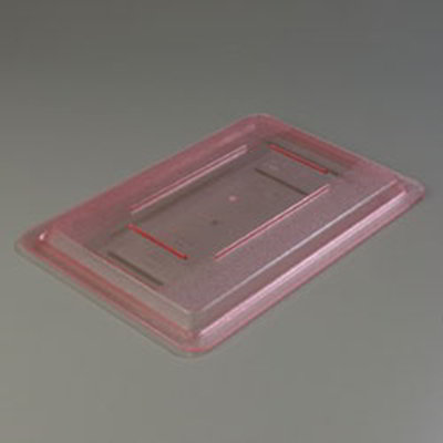 "Carlisle 10617C05 Food Storage Lid - 18x12"" Red"