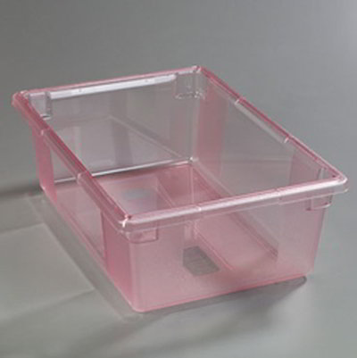 "Carlisle 10622C05 12-1/2-gal Food Storage Box - 26x18x9"" Red"