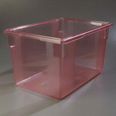 "Carlisle 10624C05 21-1/2-gal Food Storage Box - 26x18x15"" Red"