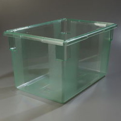 "Carlisle 10624C09 21-1/2-gal Food Storage Box - 26x18x15"" Green"