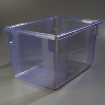 "Carlisle 10624C14 21-1/2-gal Food Storage Box - 26x18x15"" Blue"