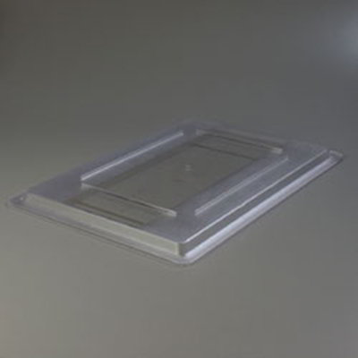 "Carlisle 1062707 Food Storage Lid - 26x18"" Clear"