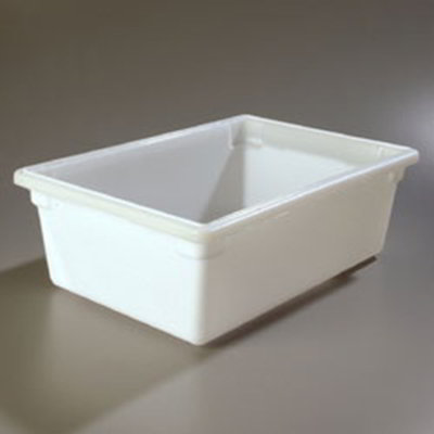 "Carlisle 1064202 12-1/2-gal Food Storage Box - 26x18x9"" White"