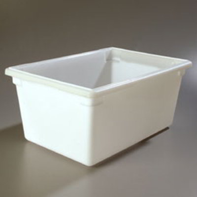 "Carlisle 1064302 16.6-gal Food Storage Box - 26x18x12"" White"