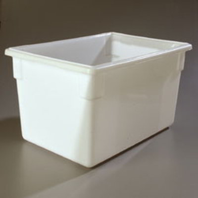 "Carlisle 1064402 21-1/2-gal Food Storage Box - 26x18x15"" White"
