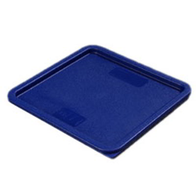 Carlisle 1074260 Food Storage Lid, for 12, 18 & 22-qt Containers, Square, Blue