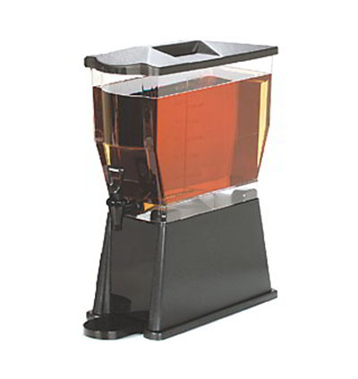 Carlisle 1085069 3-gal Premium Beverage Server - Clear/Dark Brown