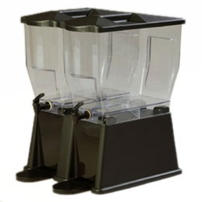 Carlisle 1085303 6-gal Economy Beverage Server - Clear/Black