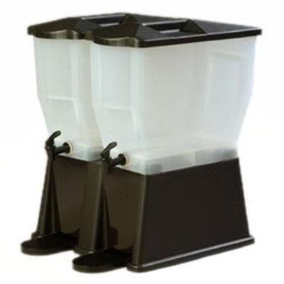Carlisle 1085703 6-gal Economy Beverage Server - Translucent/Black