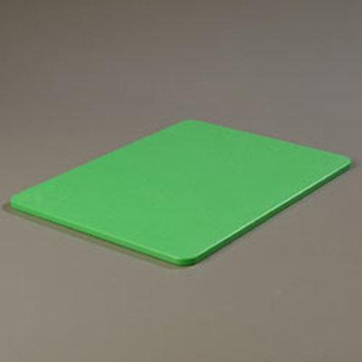 """Carlisle 1088509 Poly Cutting Board - 15x20x1/2"""" Green"""