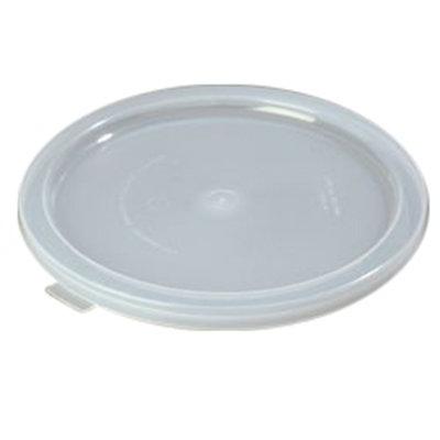 Carlisle 125230 Bain Marie Food Storage Lid, 12, 18 & 22-qt, Polyethylene, Translucent