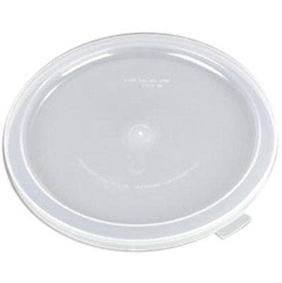 Carlisle 125330 3/5-gal Round Dispenser Lid - Clear