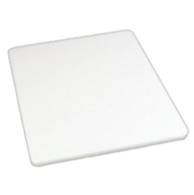 "Carlisle 1288602 Poly Cutting Board - 15x20x3/4"" White"