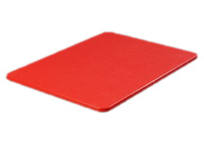 "Carlisle 1288705 Poly Cutting Board - 15x20x3/4"" Red"