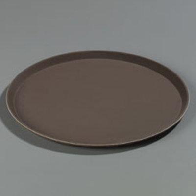"Carlisle 1600GR076 16"" Round Serving Tray - Tan"