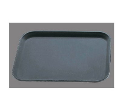 "Carlisle 1612GR004 Rectangular Serving Tray - 16-3/8x12"" Black"