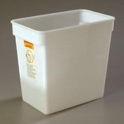 Carlisle 162902 18-qt Square Food Storage Container - White