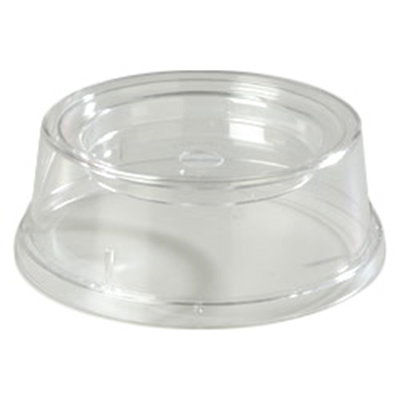 """Carlisle 196007 9"""" Plate/Bowl Cover - Poly, Clear"""