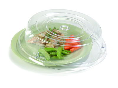 "Carlisle 199307 11"" Plate Cover - Polycarbonate, Clear"