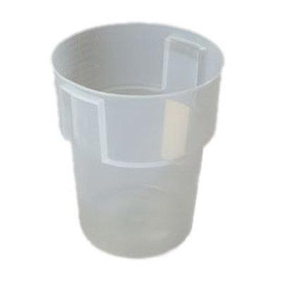 Carlisle 220530 22-qt Round Bain Marie Container - Translucent
