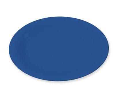 """Carlisle 3300814 6-1/2"""" Sierrus Pie Plate - Melamine, Ocean Blue"""
