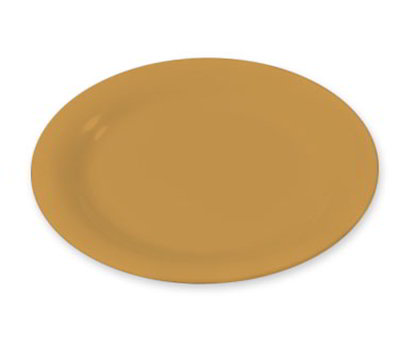 "Carlisle 3300622 7-1/4"" Sierrus Salad Plate - Melamine, Honey Yellow"