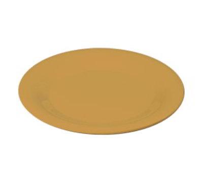 "Carlisle 3301822 6-1/2"" Sierrus Pie Plate - Wide Rim, Melamine, Honey Yellow"