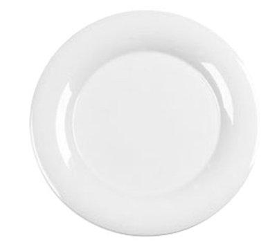 "Carlisle 3302402 12"" Sierrus Dinner Plate - Wide Rim, Melamine, White"