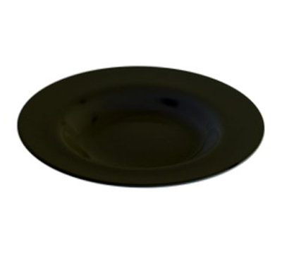 Carlisle 3303003 20-oz Sierrus Chef Salad/Pasta Bowl - Melamine, Black