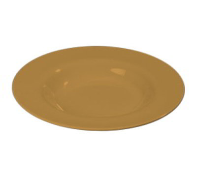 Carlisle 3303022 20-oz Sierrus Chef Salad/Pasta Bowl - Melamine, Honey Yellow
