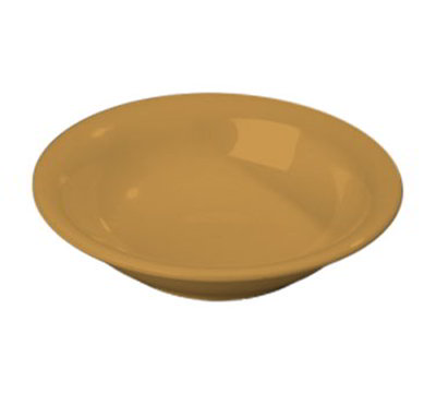 Carlisle 3303222 16-oz Sierrus Rimmed Bowl - Melamine, Honey Yellow