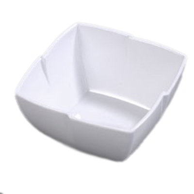 Carlisle 3331002 1-1/2-qt Rave Square Serving Bowl - Melamine, White