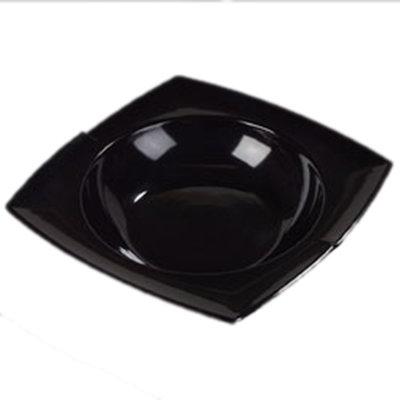 Carlisle 3331803 2-1/2-qt Rave Rimmed Bowl - Melamine, Black