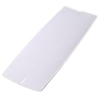 """Carlisle 3332402 Rectangular Rave Platter - 23x7-7/8"""" Melamine, White"""