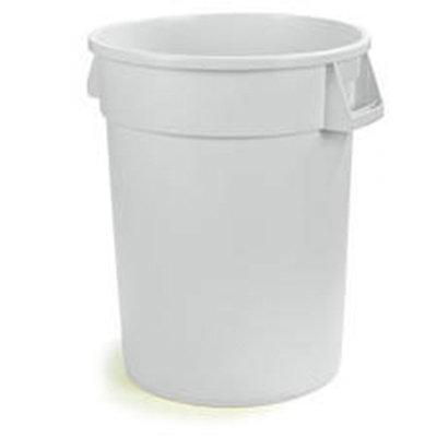 Carlisle 34101002 10-gal Waste Container - Polyethylene, White
