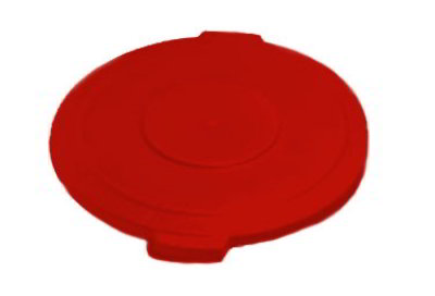 Carlisle 34103305 Waste Container Lid for 32-Gallon Container, Red