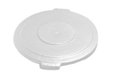 Carlisle 34101102 10-gal Round Waste Container Lid - Polyethylene, White