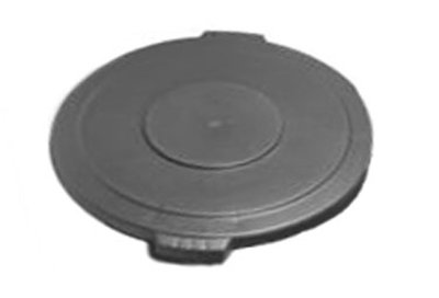 Carlisle 34101123 10-gal Round Waste Container Lid - Polyethylene, Gray