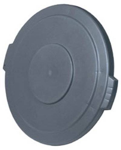 Carlisle 34104523 44-gal Round Waste Container Lid - Polyethylene, Gray