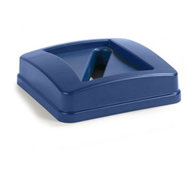Carlisle 343526REC-14 23-gal Paper Recycle Container Lid - Polyethylene, Blue