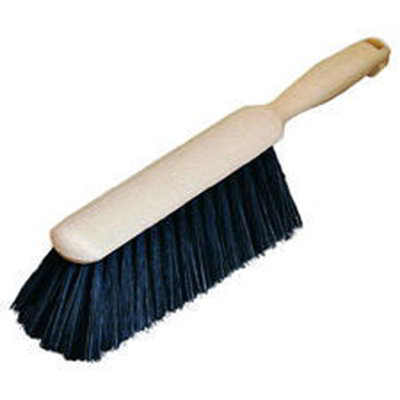 "Carlisle 3615000 8"" Counter/Bench Brush - Horsehair/Plastic"
