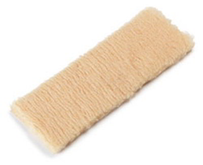 "Carlisle 36160300 16"" Wax Applicator Refill - Synthetic Woven Pile"