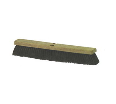 "Carlisle 3621921803 18"" Garage Floor Push Sweep - Tampico"