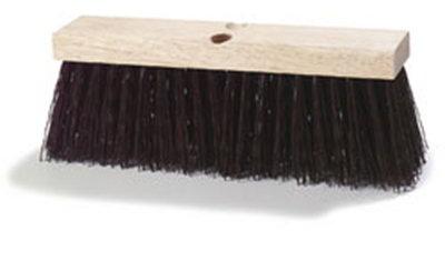 "Carlisle 3621951601 16"" Street Broom - Polypropylene, B"