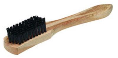 "Carlisle 36257N00 10"" Carpet Spot Brush - Nylon/Wood, Black"
